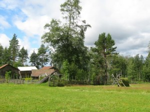 summer farm in Sweden