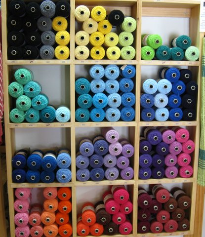 cotton boucle yarn on sale -- going, going, gone